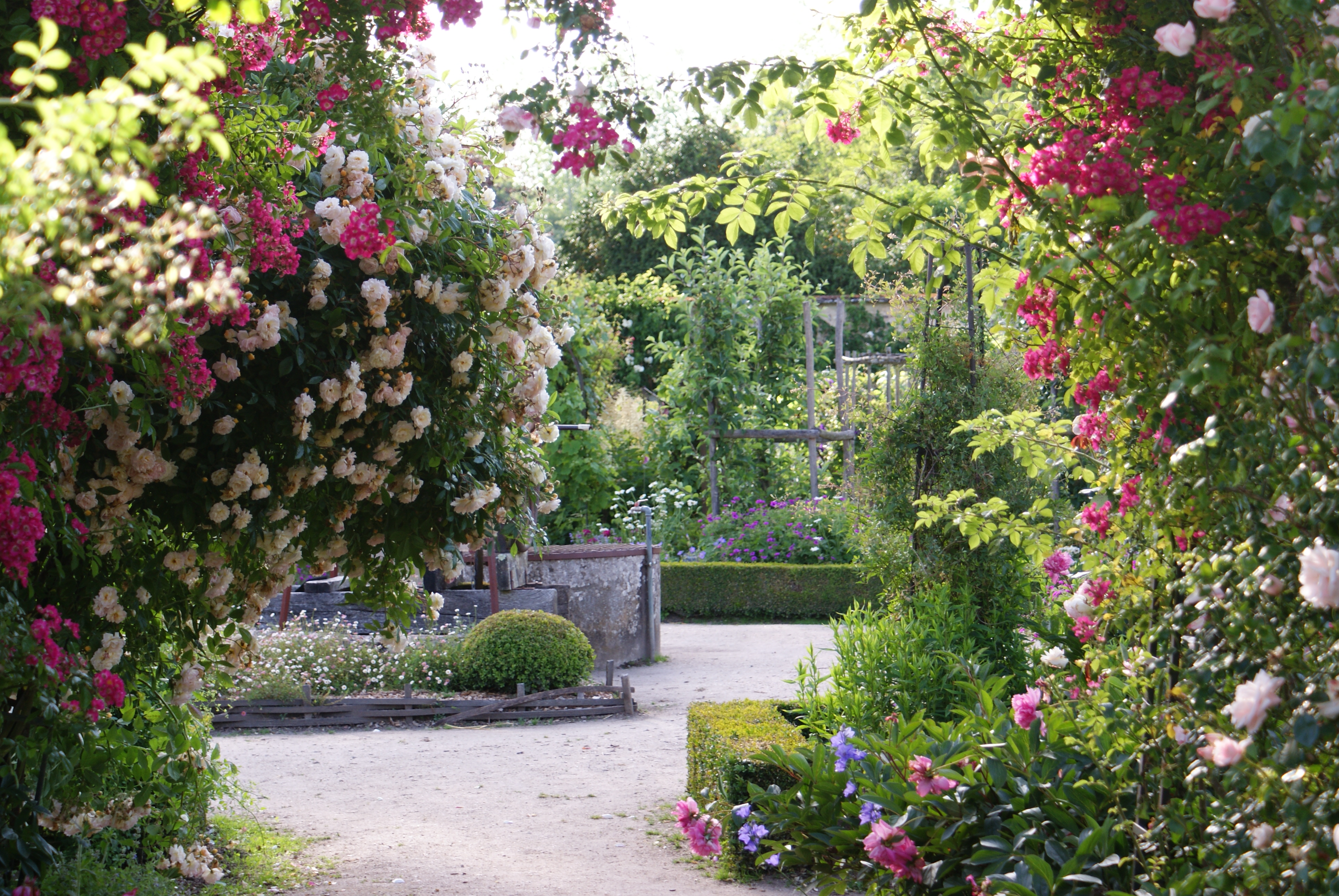 Parc jardin et potager remarquable du ch teau de la bussi re parcs et jardins en r gion centre - Parcs et jardins de france ...