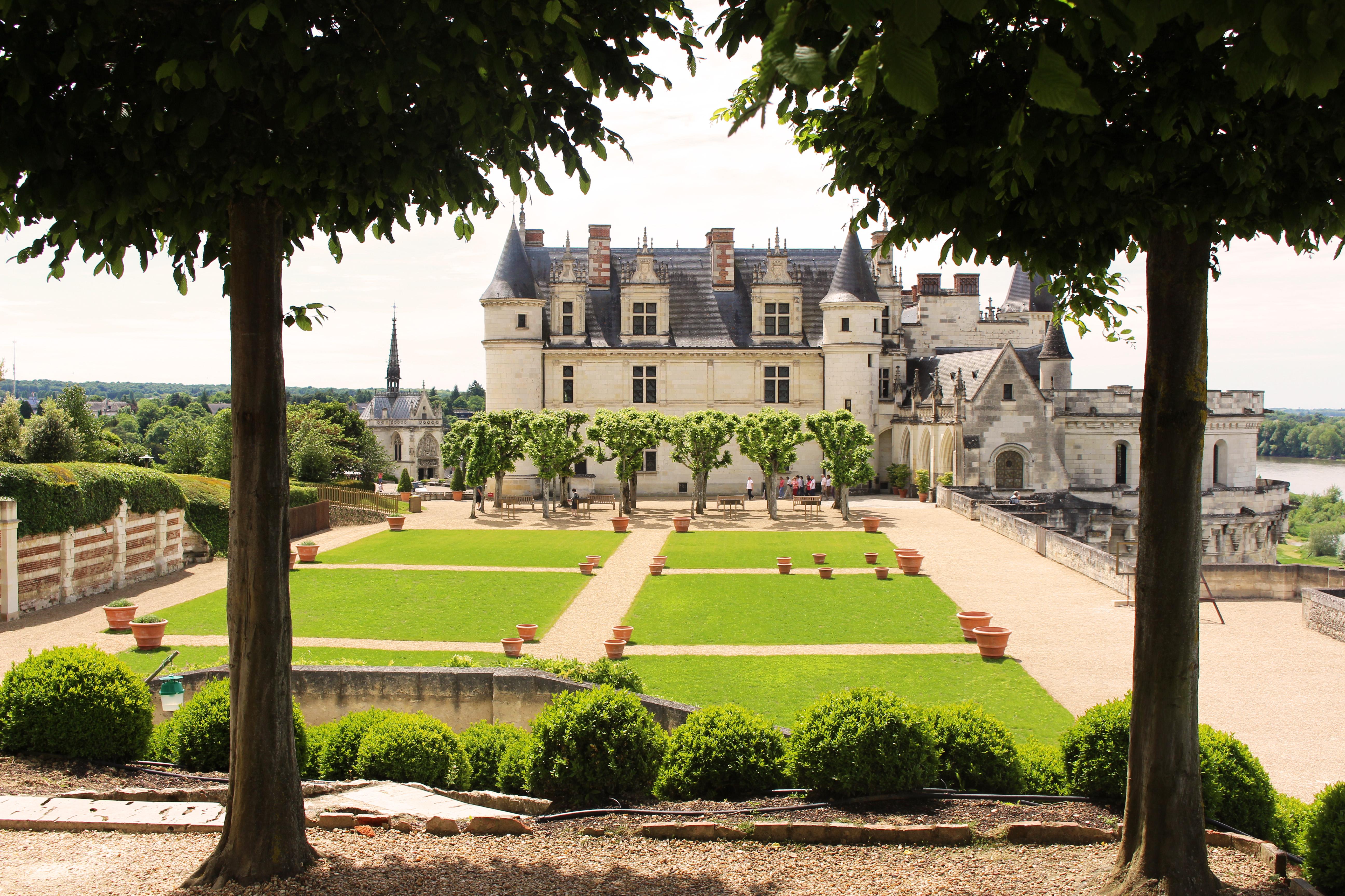 Jardin du ch teau royal d 39 amboise parcs et jardins en for Jardin renaissance