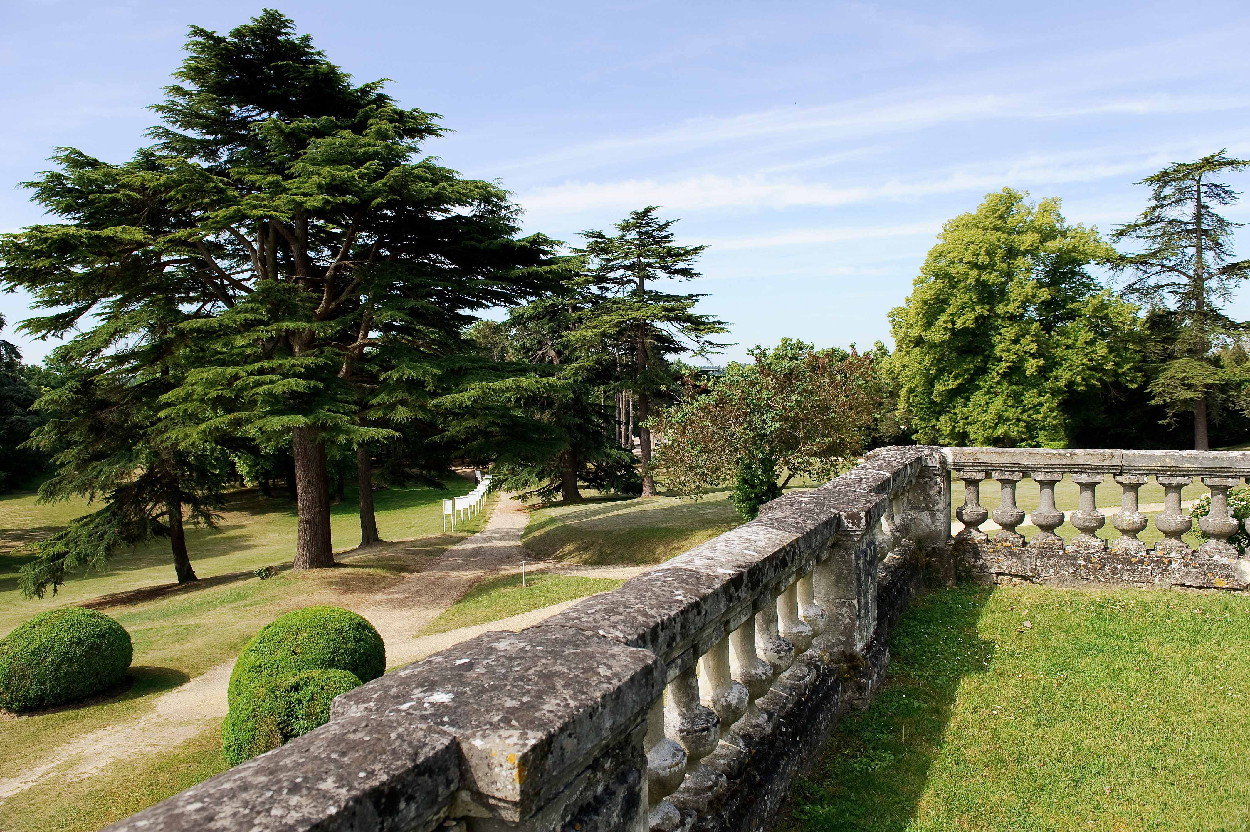 Parc et jardin du ch teau de la bourdaisi re parcs et jardins en r gion centre - Parcs et jardins de france ...