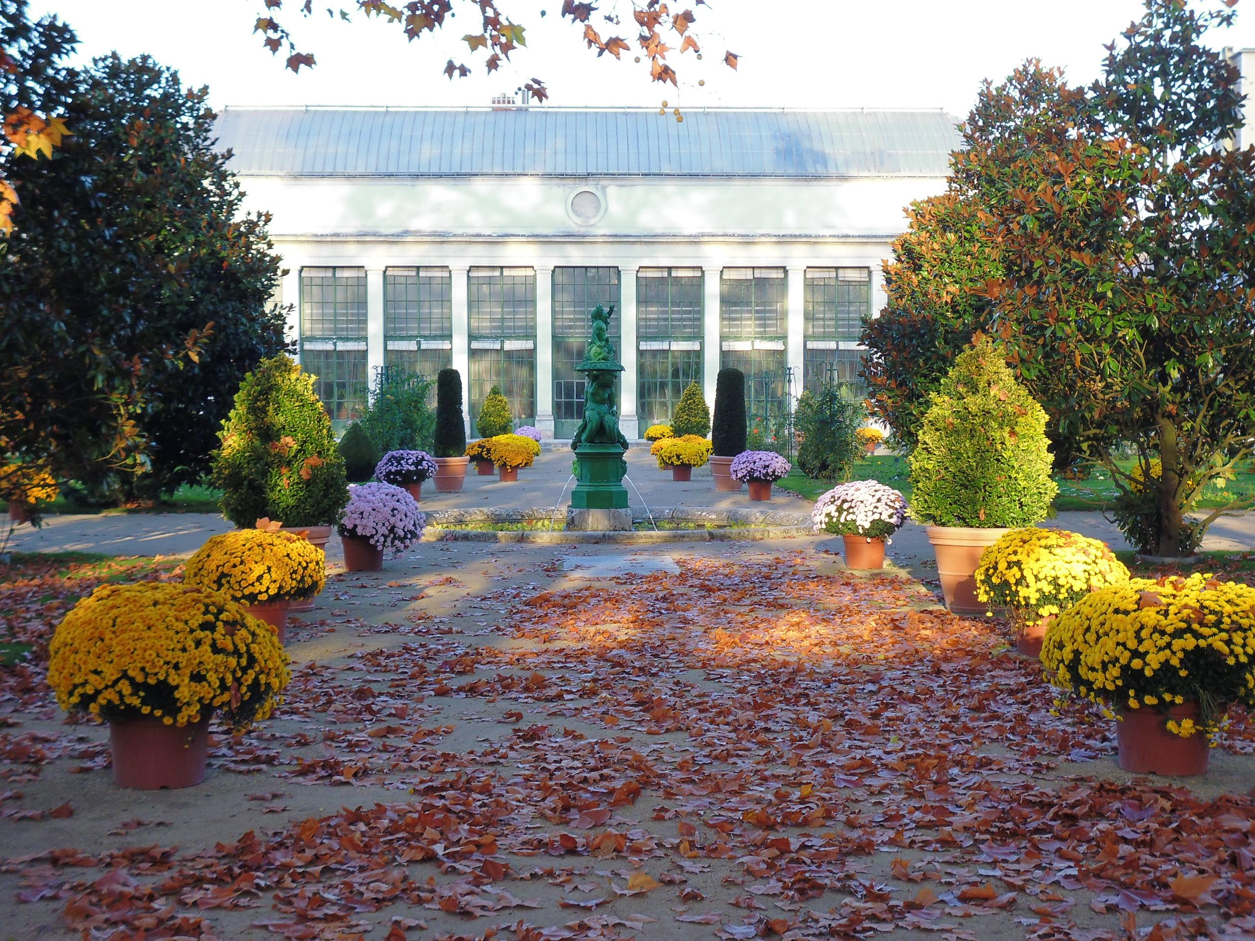 Jardin des plantes d 39 orl ans parcs et jardins en r gion - Maison jardin des plantes nantes orleans ...