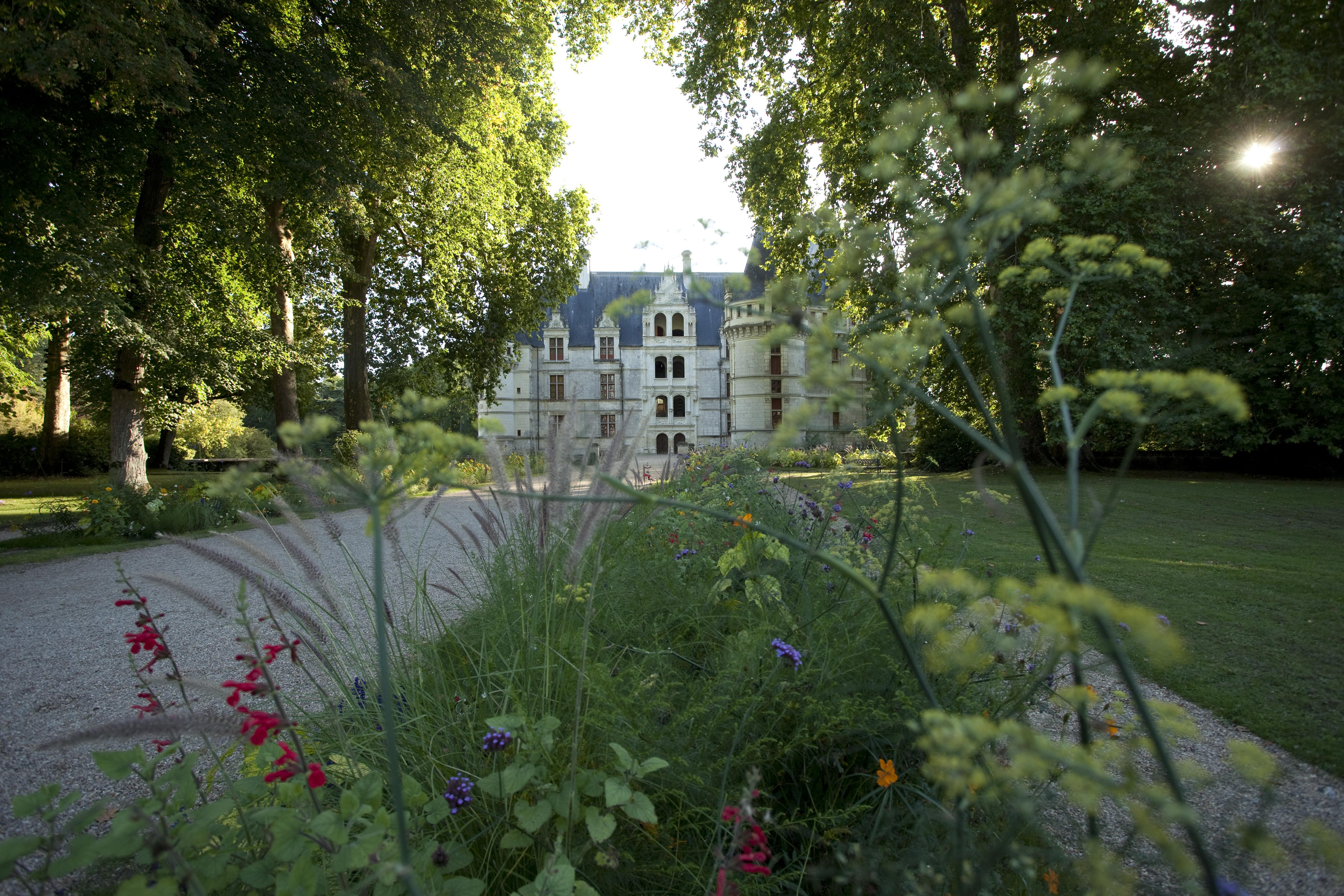 parc du ch teau d 39 azay le rideau parcs et jardins en r gion centre. Black Bedroom Furniture Sets. Home Design Ideas