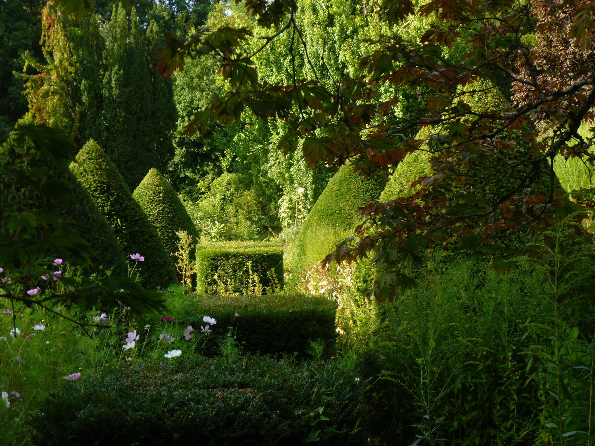 Visite aux parc et jardin du ch teau du bignon mirabeau for Jardins de france a visiter