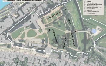 Plan du site en 2019