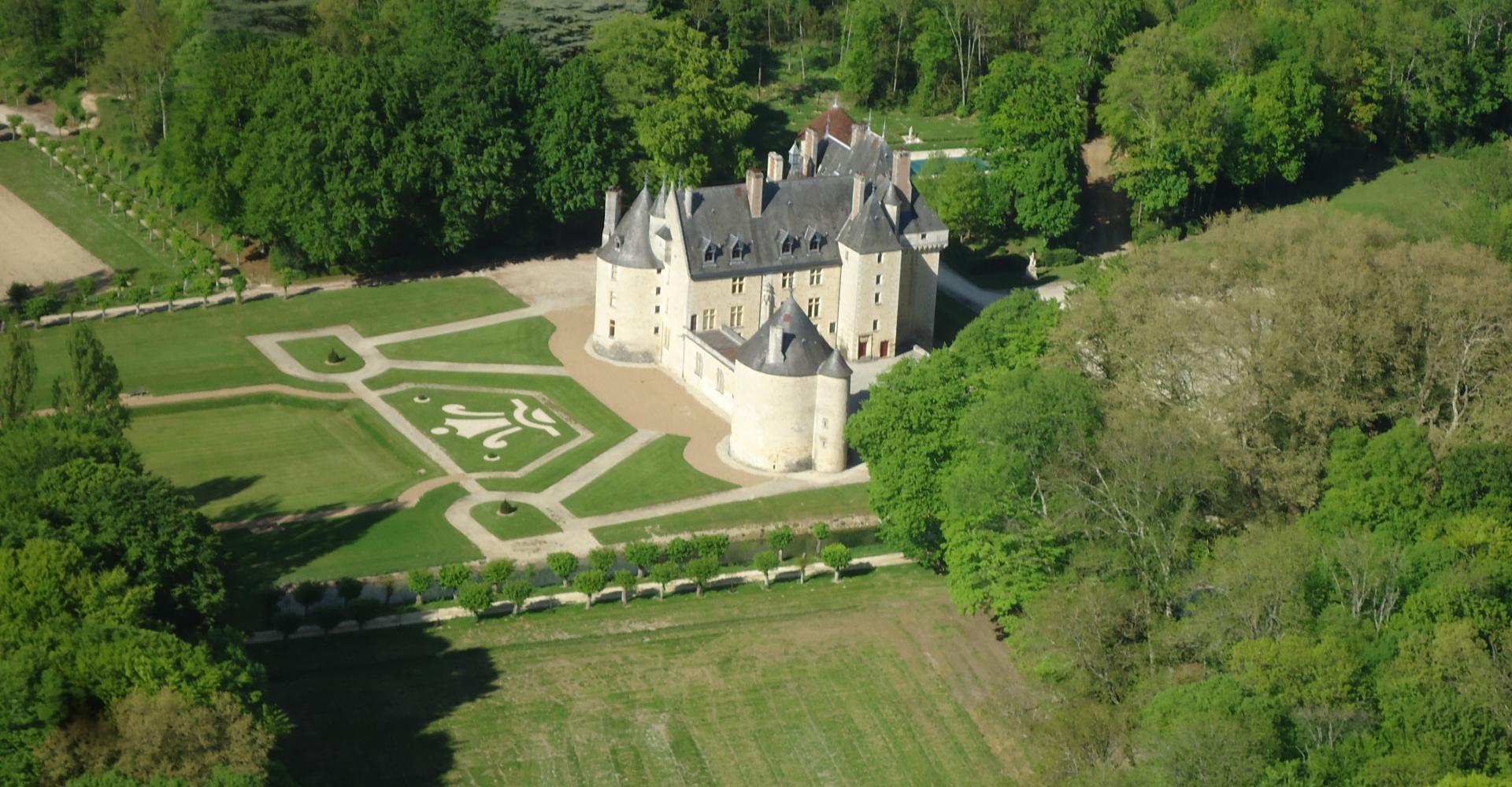 Parc et Jardins à la française du château de Maubranche | Parcs et Jardins  en Région Centre