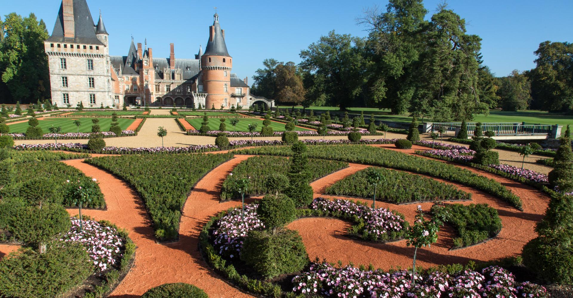 Jardin la fran aise et parc du ch teau de maintenon - Jardin a la francaise caracteristique ...
