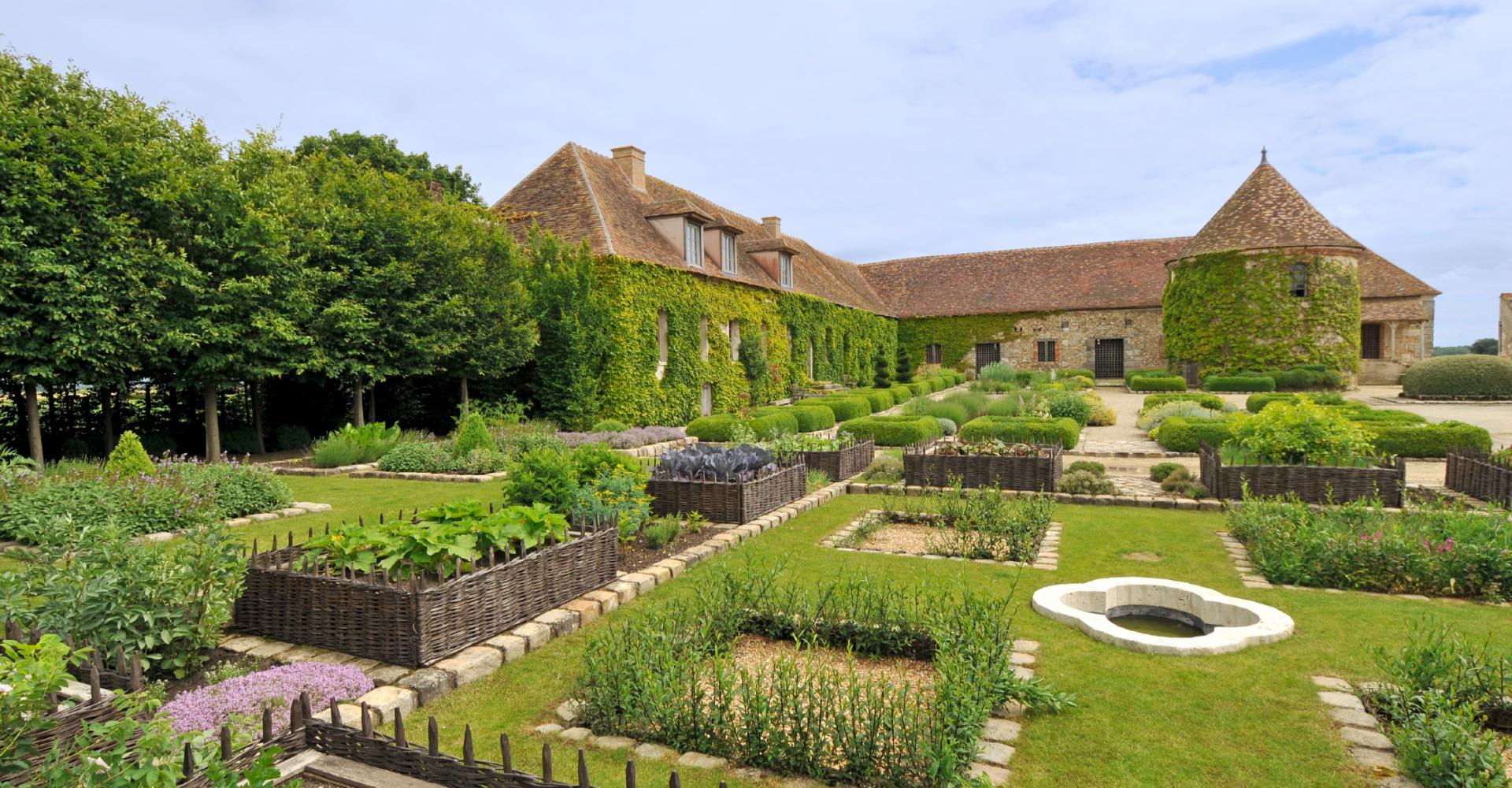 Jardin de bois richeux parcs et jardins en r gion centre for Jardins de france a visiter